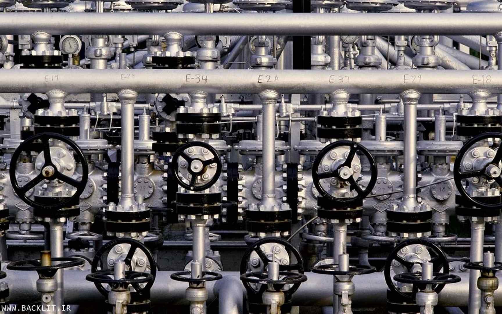 عکس تاسیسات صنعتی وپالایشگاهی 91