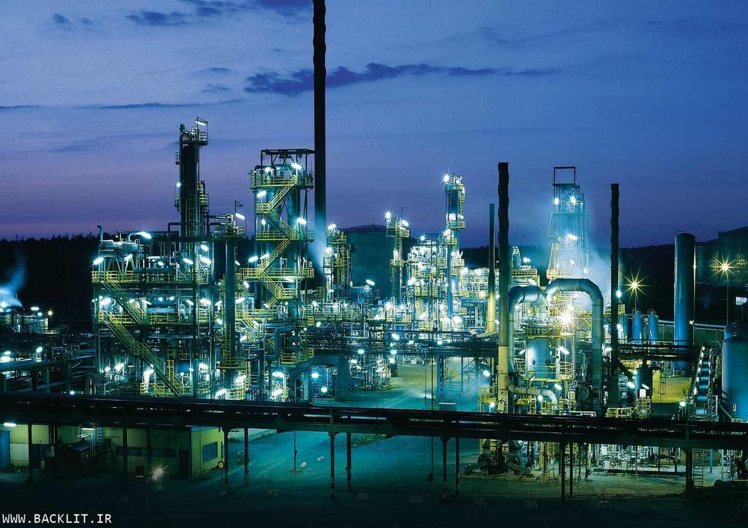 عکس تاسیسات صنعتی وپالایشگاهی 98