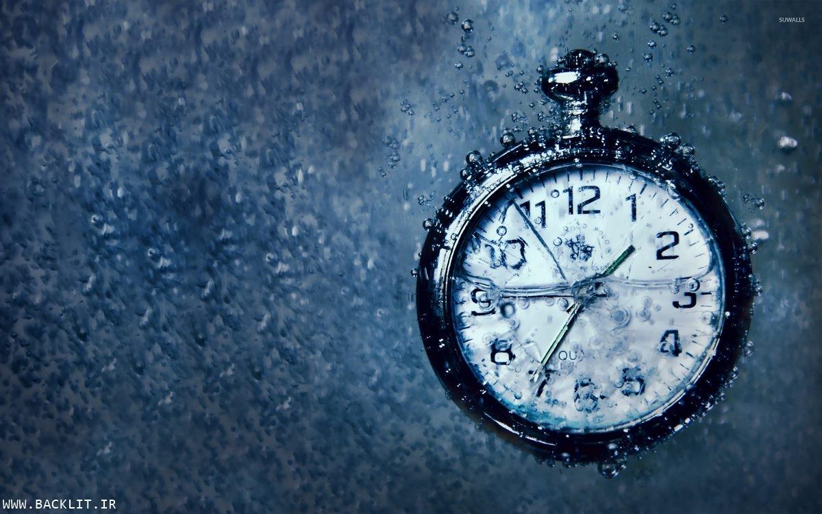 قاب عکس ساعت