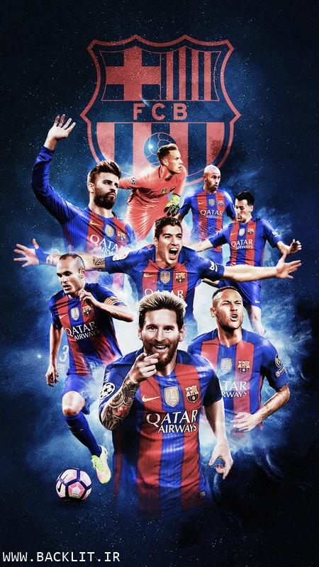 قاب عکس بارسلونا