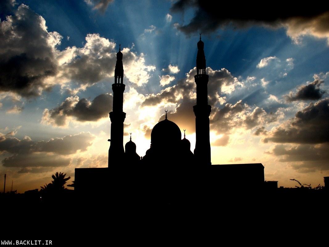 تابلو مسجد
