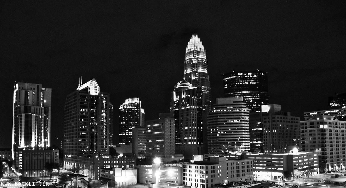 چاپ عکس مناظر شهری سیاه و سفید