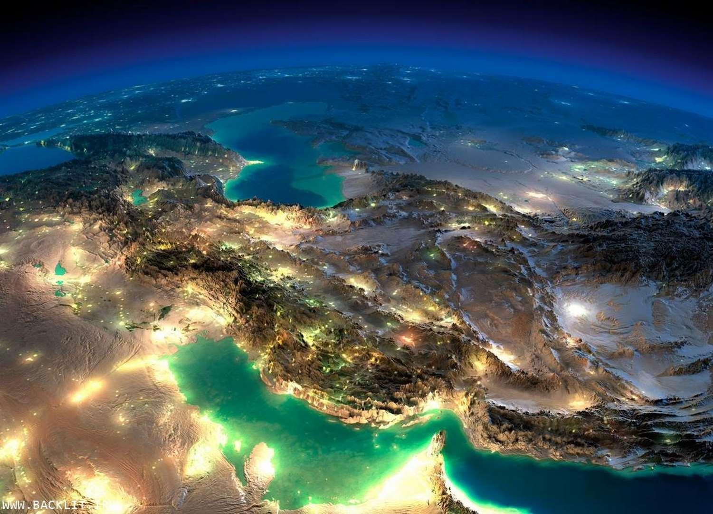 قاب عکس نقشه ایران