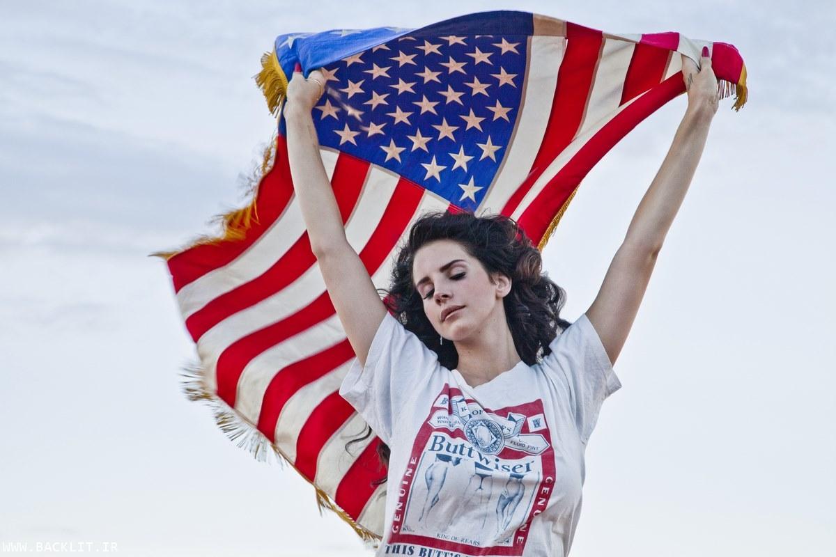 قاب عکس پرچم آمریکا