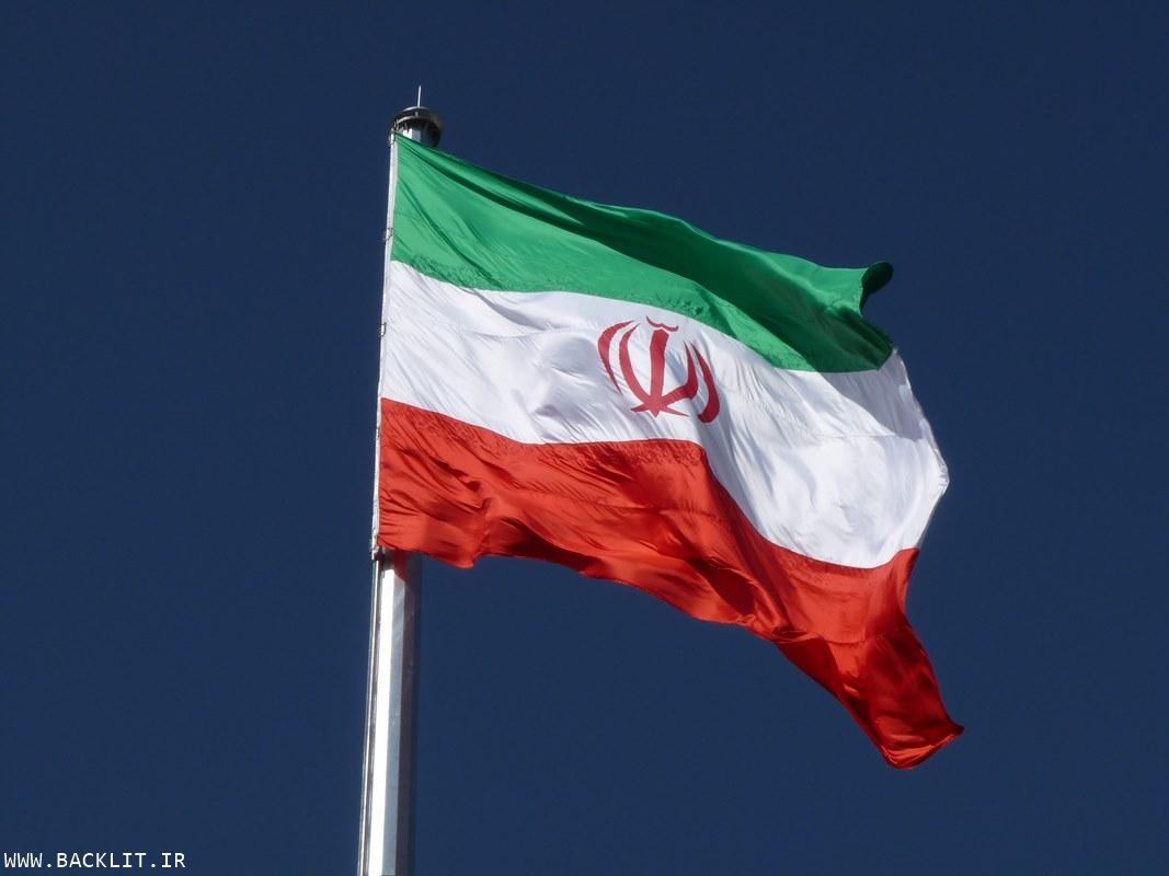 تابلو شیک پرچم ایران