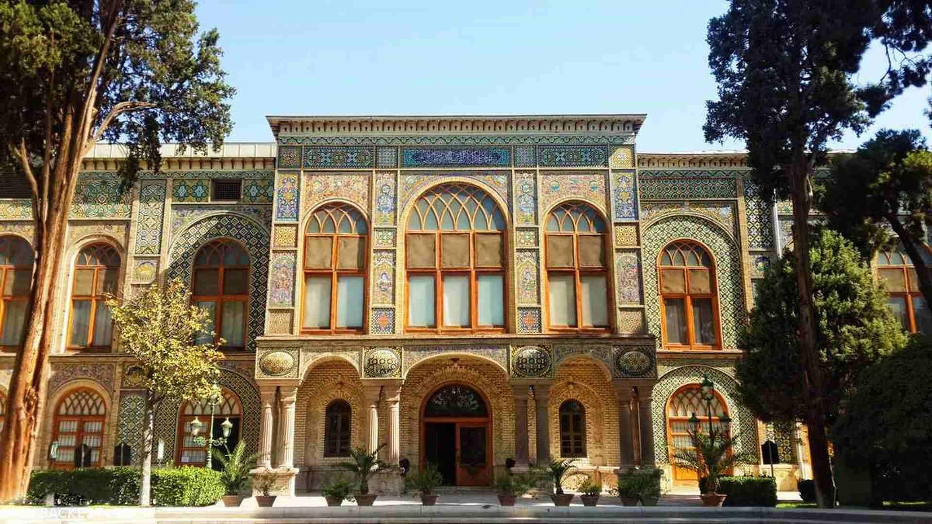 قاب عکس کاخ گلستان