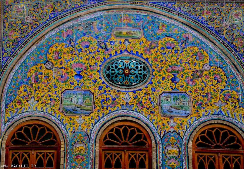تابلو کاخ گلستان