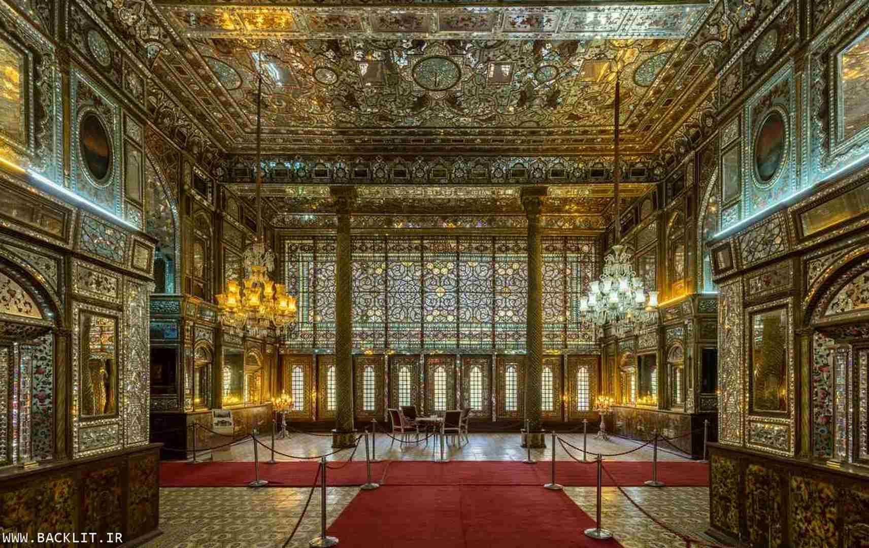 خرید قاب عکس کاخ گلستان