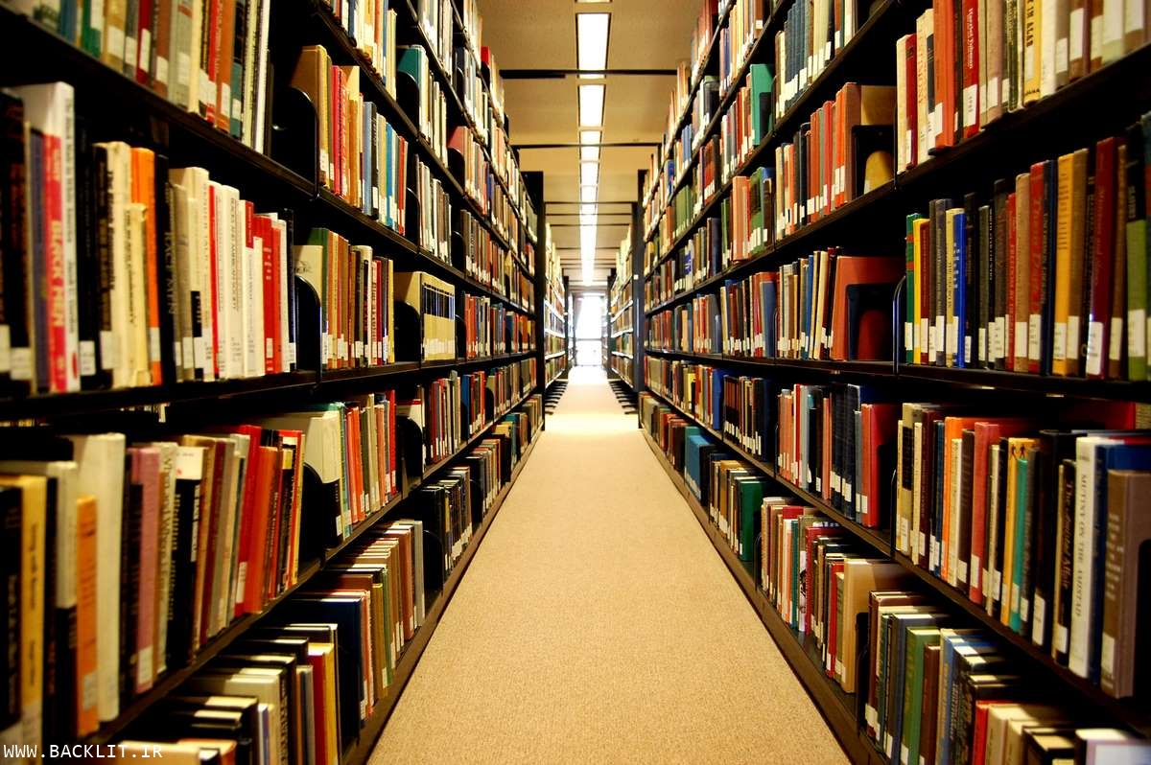 تابلو کتابخانه