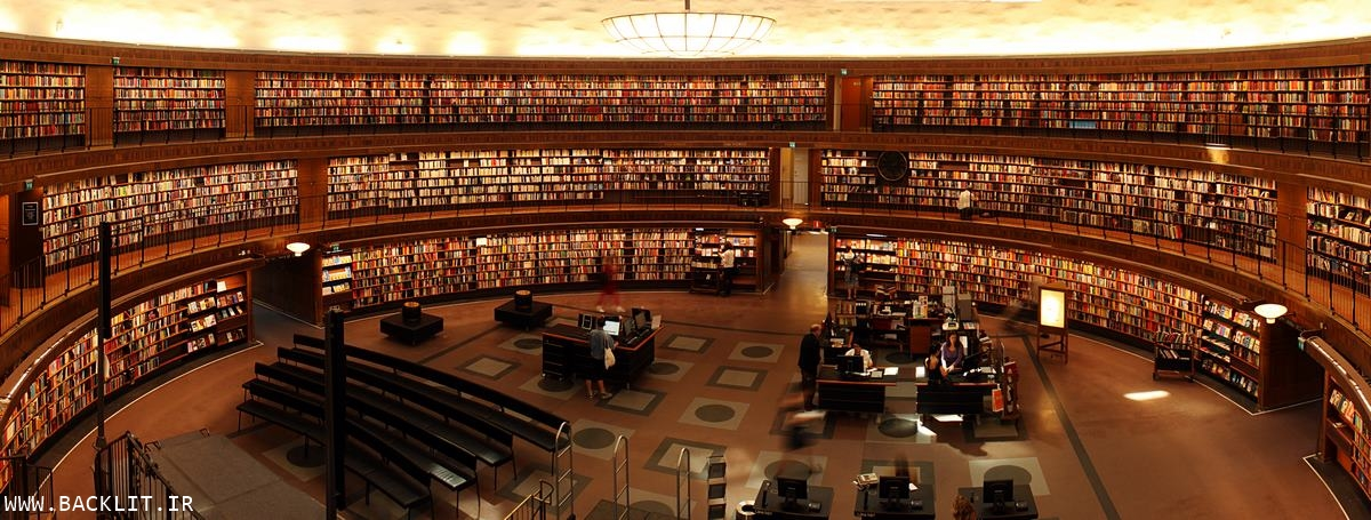 خرید تابلو کتابخانه
