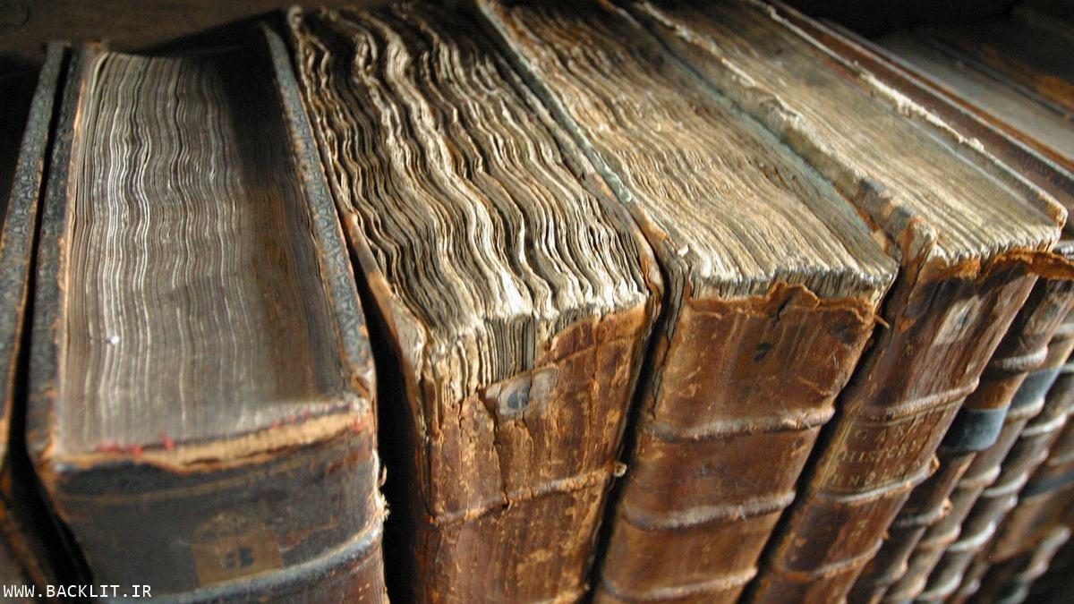 تابلو تزیینی کتابخانه