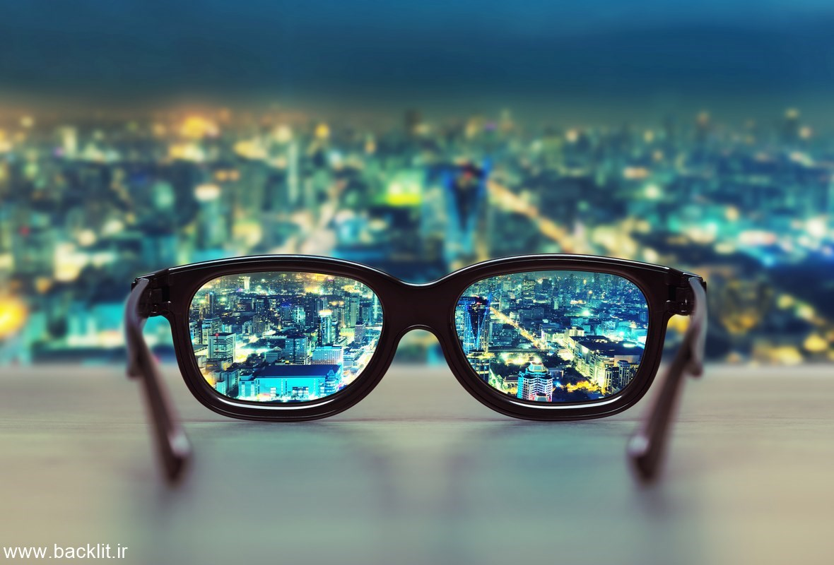 قاب عکس عینک