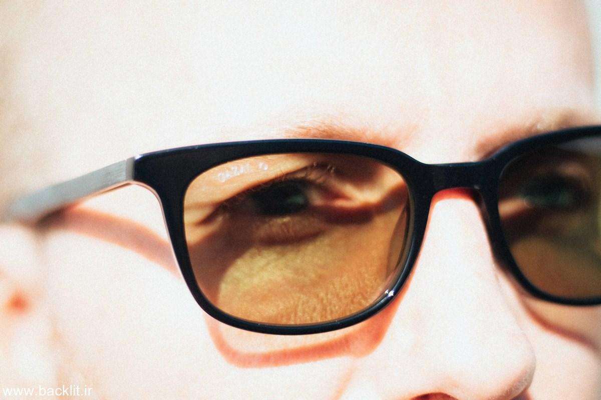 چاپ عکس عینک