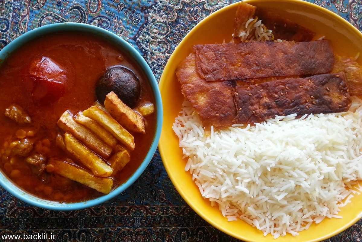تابلوغذای ایرانی