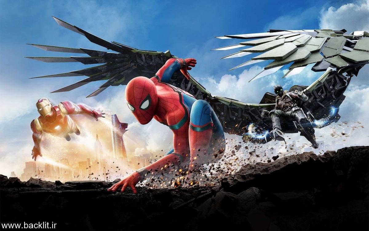 چاپ عکس مرد عنکبوتی