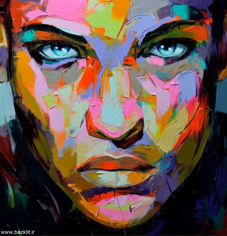 بکلایت نقاشی چهره