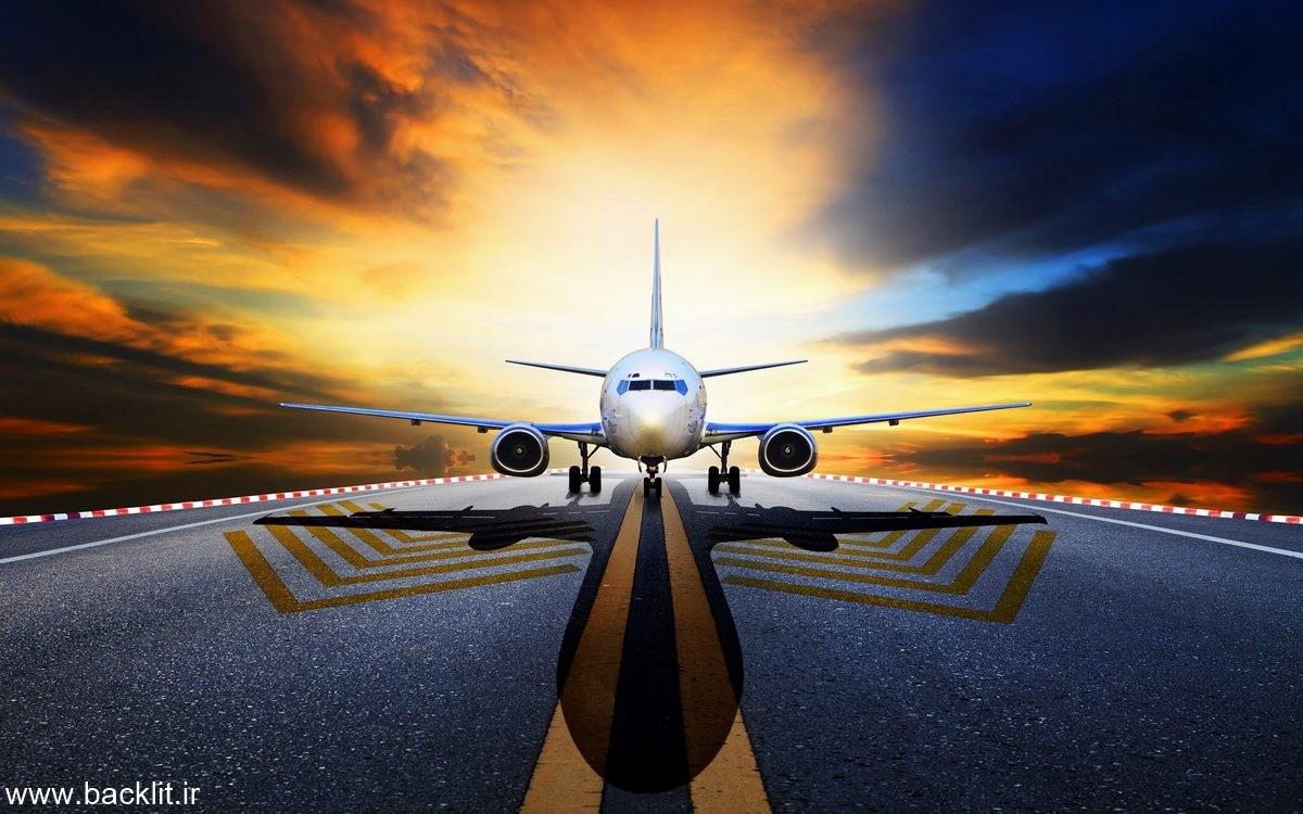 عکس هواپیمای مسافربری