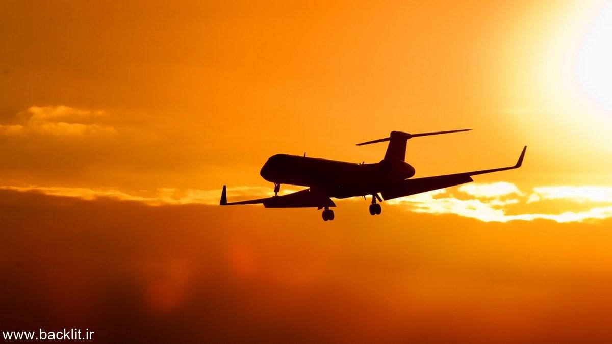 قاب عکس هواپیما