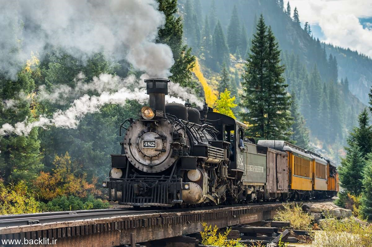 عکس قطار