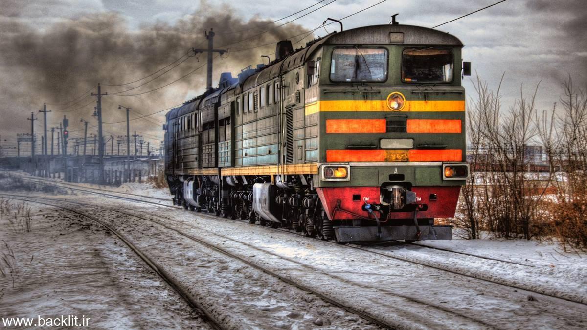 قاب عکس قطار