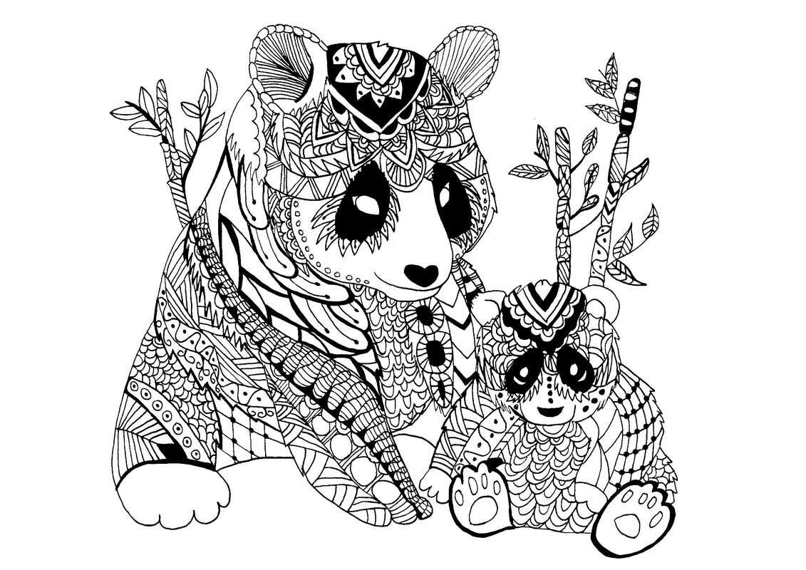 تابلو طرح های کودکانه سیاه و سفید