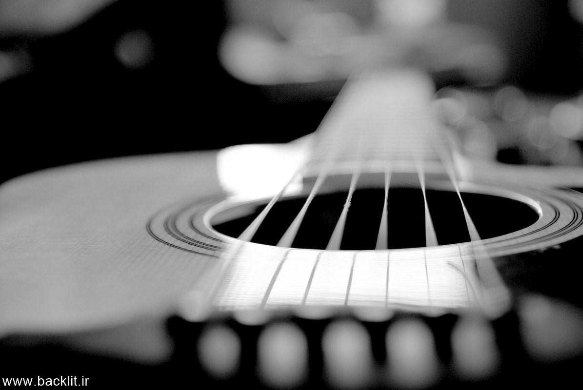 قاب عکس گیتار