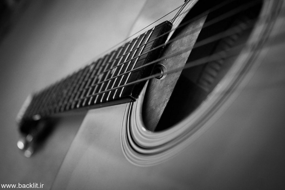 بک لایت گیتار
