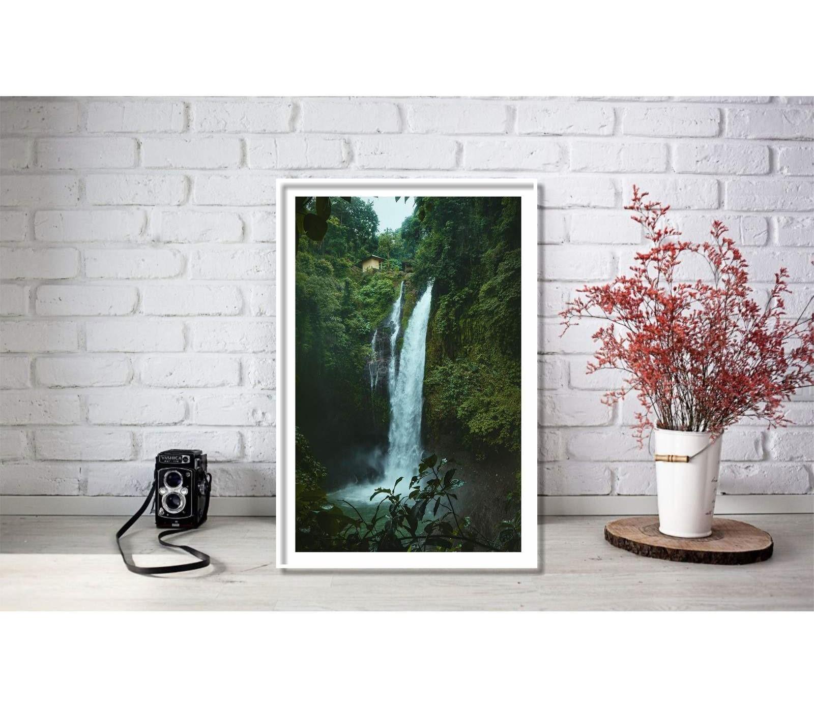 تابلو طرح آبشار